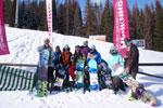 Школа инструкторов флэт-фристайла (сноуборд) на ГЛК «Нечкино» в Ижевске