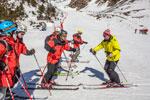 Школа инструкторов по обучению технике катания на горных лыжах. Приэльбрусье