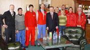 встреча Леонида Тягачева и представителей нашего Учебного Центра с руководителями инструкторских служб Франции